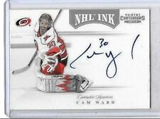 CAM WARD 2011-12 PANINI CONTENDERS NHL INK CERTIFIED AUTOGRAPH
