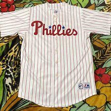 Vintage 90s Bobby Abreu Philidephia Phillies Baseball Jersey Mens Size XL
