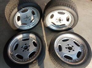 "Lorinser RSK 4 - 8x18"" ET44 5x112 - Felgen RSK4 BBS Mercedes Benz R129"