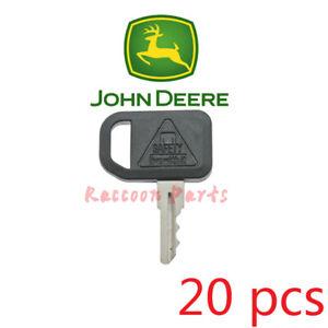 20pcs John Deere Utility Vehicle Key AM131841 Ditch Witch Mower Tractor Gator