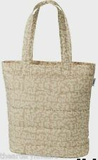 KEITH HARING x UNIQLO 'Abstract' Padded Tote Bag LARGE Beige SPRZ NY **NWT**