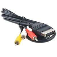 TV AV 3 RCA Cord Audio Video Cable for Microsoft Original Xbox 1st Generation
