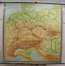 Schulwandkarte Wandkarte Schulkarte Deutschland Germany Poland Austria 210x210c