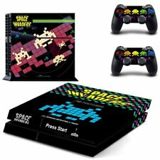 Space Invaders Skin Vinyl Sticker for the PlayStation 4 Console PS4