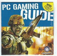 2004 Ubisoft PC Gaming Guide CD-ROM Including Myst IV Playable Demo New/Sealed