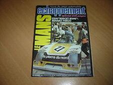 Echappement N°140 Fuego TL.Porsche 928 S.Les 24 Heures du Mans.