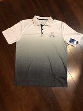Colosseum Men's Virginia Cavaliers Polo Shirt Size L White Black