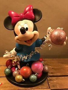Vintage Disney Minnie Mouse Xmas Figurine