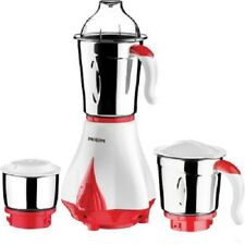 Philips HL7510/00 550 W Mixer Grinder  (Red, White, 3 Jars) Daily Home Use