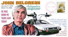 COVERSCAPE computer designed 90th anniversary birth of John DeLorean event cover