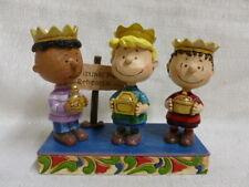 Jim Shore Peanuts Practice Makes Perfect Snoppy Woodstock Figurine 4045874