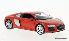Audi r8 v10 rojo - 1:24 Welly