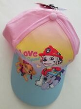 758fa6e870e Toddler Girls NIckelodeon Pink Blue Sparkle Love my Squad Hat Ball Cap 2-4T