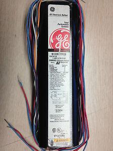 6 GE 80139 B132R277V20 277 VOLT 1-LAMP RAPID START ELECTRONIC DIM BALLAST 0-10