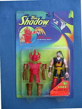 THE SHADOW BATTLE SHIWAN KHAN WITH RED DEMON ARMOR 4 INCH  FIGURE KENNER 1994