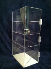 Acrylic Display Case for Electronic Cigs (Flat & Slanted Shelf) 10x6x20