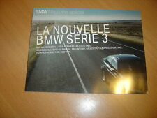 BMW Magazine spécial Nouvelle série 3 2005