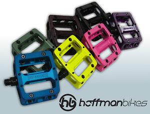 "Hoffman Bikes Solemate pedals 9/16"" Aluminium/Sealed bearings– NEW!!"