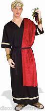 ADULT ROMAN SENATOR HALLOWEEN COSTUME W/ HEADPIECE, BELT AND ROBE