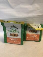 New listing Lot of 2 Greenies Pill Pockets Capsule Size, Cheese Flavor,60ct Each, Exp2/15/21