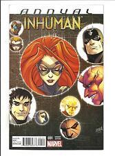 INHUMAN ANNUAL # 1 (JULY 2015), NM NEW