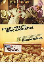 PUBLICITE ADVERTISING 064  1979  BAHLSEN    biscuits KIPFERL