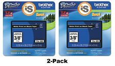2-Pack Genuine Brother TZe325 P-Touch Tape TZ325 * Authorized Brother Dealer *