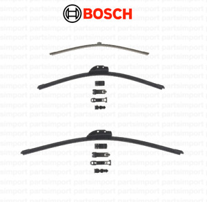 Wiper Blade Set (Rear + Front Right + Front Left)BOSCH for Audi A4 QUATTRO AVANT