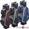 WILSON STAFF I-LOCK III 14 WAY DIVIDER TOP GOLF CART TROLLEY BAG / 2020 MODEL!!!