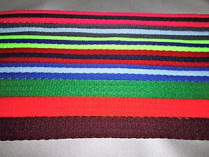 Figure of 8 eight  head collar lead in 19mm soft cushion web fabric clip handle