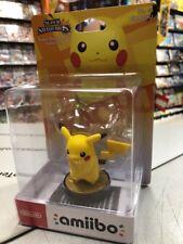 Amiibo Pikachu Super Smash Bros Collection No.10 NUOVO SIGILLATO