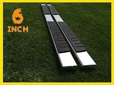 """07-17 Toyota 4 Runner 6""""  Nerf Bar Side Bar Running Board Side Step Chrome H"""