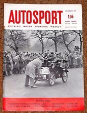Autosport 1/11/57 - GP of MOROCCO - LITTLE LE MANS LIME ROCK - HUMBER HAWK TEST