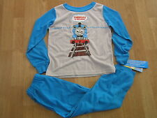 THOMAS /& FRIENDS Boy Licensed long sleeve tee t shirt top blue NEW sizes 1-4