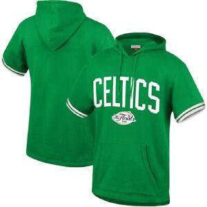 Mitchell & Ness NBA Youth Boys Boston Celtics Short Sleeve French Terry Hoodie