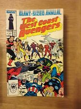 West Coast Avengers Annual issue 2 from 1987 - discounted post