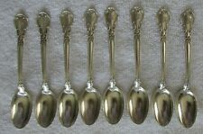 Chantilly Gorham Sterling Silver demitasse spoons set of 8 coffee pm teaspoon