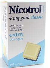 Nicotrol Nicotine Gum 4mg CLASSIC 2625 Pieces (25 Boxes)