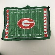 University of Georgia Bulldogs Tailgating Pop Up Food Cover Set New