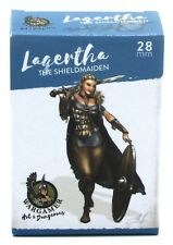 Wargamer HD-28-02 Lagertha the Shieldmaiden (28mm) Hot & Dangerous Female Viking