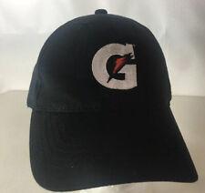 Gatorade Baseball Cap Hat Big G Logo Energy Sports Drink Strapback Series Black