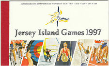 JERSEY  -  STAMP  BOOKLET  -  7 TH  ISLAND  GAMES,  JERSEY  -  1997