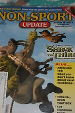 NSU Non Sport Update Magazine Shrek Cover vol 18 #2 2007 with James Bond promos
