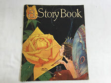 Antique 1935 A STORY BOOK childrens stories THE THREE BEARS The Little Red Hen++