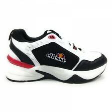 Scarpe da Ginnastica Ellesse Dalton Sneakers Lacci Uomo Bianco Nero EL01M6042811