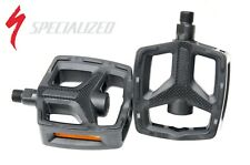 Specialized plastic Flat Platform pedals bicycle bike pedals 9/16