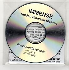 (FV375) Immense, Hidden Between Sleeves - 2003 DJ CD