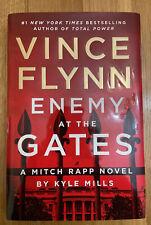ENEMY AT THE GATES Vince Flynn/Kyle Mills (Mitch Rapp Series) HC/DJ 1st Ed 2021