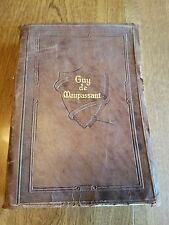 Vintage The Complete Short Stories Of Guy de Maupassant 1903 Leather 10 Vol in 1