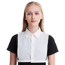 Women False Collar Detachable Lapel Half Shirt Blouse Bib Choker Necklace Gift